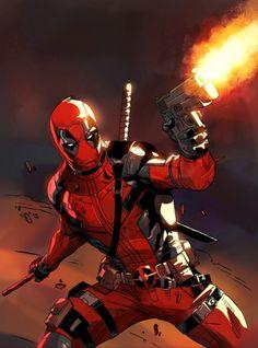 Deadpool Marvel X, Marvel Heroes, Captain Marvel, Deadpool Fan Art, Deadpool Stuff, Deadpool Movie, Marvel Universe, Comic Books Art, Comic Art