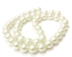 White 6mm glass beads, 6mm glass pearls, 6mm round beads, white pearls, 6mm pearls, glass pearls, jewellery supplies, jewelry supplies by vickysjewelrysupply. Explore more products on http://vickysjewelrysupply.etsy.com