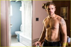 Max Thieriot Talks Shirtless Scenes in 'Bates Motel'! (Exclusive): Photo Check out our new exclusive interview with Max Thieriot from one of our favorite shows Bates Motel! The actor plays Dylan Bates, a man working in… Max Thieriot, Dylan Bates Motel, Bates Motel Season 4, Dylan Massett, I Love Mondays, Norman Bates, Shocking News, Beauty Photos, Man Crush