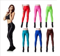 High waist Multi-colored Workout Fitness Gym Sports Leggings.
