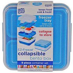 Cool Gear EZ-Freeze Collapsible Bento Set walmart 9$