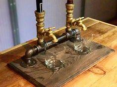 Dispensador de licor doble dispensador Dual whisky