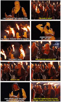 Django Unchained - One of the most hilarious scenes of the History. Tarantino's just awesome <3