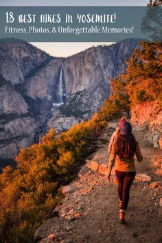 The 18 Best Hikes in Yosemite for Fitness, Photos, & Unforgettable Memories! - Travel tips - Travel tour - travel ideas Camping In England, Camping In Ohio, Yosemite Camping, New Orleans, New York, Travel Tours, Travel Usa, Travel Ideas, Yosemite Sequoia