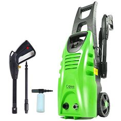 Colee XG-01G 1600W Compact Full-Control High Pressure Washer for Car, Home, Garden (Green)---79.99---
