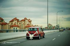 Mini Cooper Wedding Car