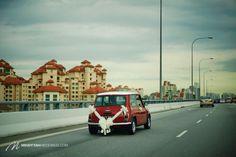 Mini Cooper Wedding Car