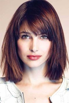 awesome 25 Long Bob with Bangs | Bob Hairstyles 2015 - Short Hairstyles for Women