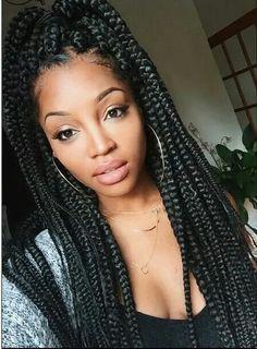 Marvelous Long Twist Braids Nice And Twists On Pinterest Short Hairstyles Gunalazisus