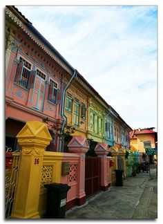 The colorful and characterful shophouses along Joo Chiat Road are well worth seeing... By slaicheng, via Flickr