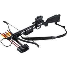 Anglo Arms Jaguar 175 LB Black Crossbow Kit Red Dot | Bushcraft | Army Surplus | Prepping