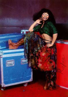 Rufus Featuring Chaka Khan The Roxy, West Hollywood, California, 1977 © 2018 Bruce W. Hip Hop, Chaka Khan, Women Of Rock, Great Women, Soul Music, Female Singers, Celebs, Celebrities, 70s Fashion
