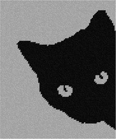 Muster stricken Needlepoint Kit or Canvas: Cat around the corner - Needlepoint Designs, Needlepoint Kits, Needlepoint Canvases, Needlepoint Stitches, Cat Cross Stitches, Knitting Charts, Knitting Patterns, Crochet Patterns, Embroidery Patterns