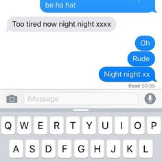 When you're having a chat with your mum and she blows you off