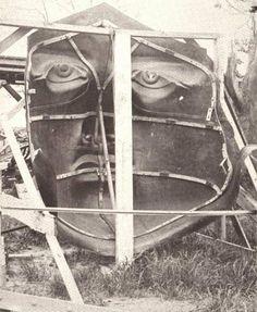 Construcción de la Estatua de la Libertad.