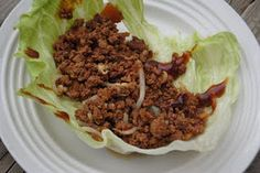 Crockpot lettuce wraps - I'm gonna have to add back in some mushrooms :-)