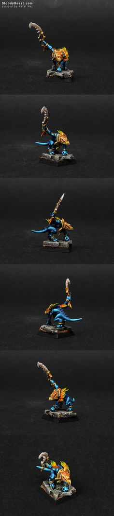 Skink Priest I've made form parts that left over those Lizardmen sets. I really like this pose. I'm also happy with the base. It has that new Slaan symbol on it. Warhammer Aos, Warhammer Models, Warhammer Fantasy, Lizardmen Warhammer, Stormcast Eternals, Minis, Fantasy Model, Blood Bowl, Warhammer 40k Miniatures