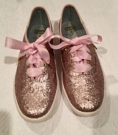 Kate Spade Ice Pink Sparkle Keds size 7M Shoes | Clothing, Shoes & Accessories, Women's Shoes, Flats & Oxfords | eBay!