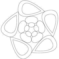Blank Zentangle Templates - Invitation Templates