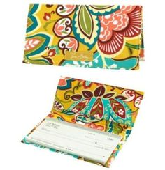 """Vera Bradley Checkbook Cover in Provencal by Vera Bradley. $11.99. Size:6¾"""" x 3½""""  Paying bills might just become fun. Give your checkbook a whimsical wrap with these simple, pretty covers."""