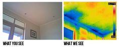 Mikä on Termografia? - NZ Kosteus Testaus: kosteus testaus kodeissa auckland Hamilton, vuodon havaitseminen, lämpökuvaus yhtiö, vuotavat kotiin asioita, kosteus invaasio raportti, kipsi verhous kosteus testaus