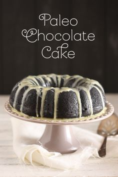 Paleo Chocolate Cake - The Spunky Coconut