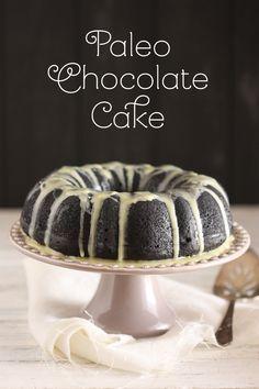Paleo Chocolate Cake. It's gluten-free, grain-free, nut-free, dairy-free!