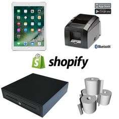 SHOPIFY POS HARDWARE BUNDLE #5 is an iPad POS System Hardware selection for #shopify point of sale software