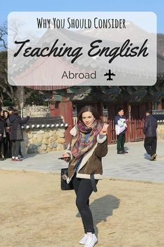 Anyone unsure whether or not to take the plunge into teaching abroad? Want to save money and travel the world? These are just some of the reasons why I would recommend it to anyone looking to escape the daily grind! Travel Jobs, Travel Advice, Travel Hacks, Budget Travel, Travel Deals, Travel Essentials, Travel Careers, Student Travel, Travel Guides