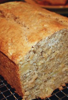tropical pineapple coconut banana bread *recipe
