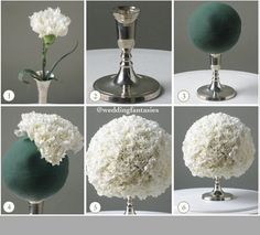 DIY- flower arrangement