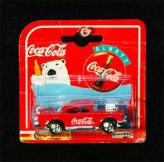 Vintage Coke Collectible Coca Cola 200 Series 1957 Chevrolet 57 Chevy Diecast