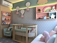 Perfect personal room decoration for you baby! Baby Bedroom, Baby Boy Rooms, Baby Room Decor, Nursery Room, Girls Bedroom, Bedroom Decor, Diy Zimmer, Nursery Inspiration, Girl Room