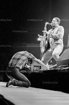 bruce springsteen & clarence clemons 1981