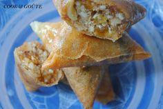 Briouates aux fruits secs et aux fromages