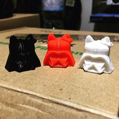 3D printed Darth Kitty  #Gosu #hellokitty #darthvader #starwars #christmas #business #3d #3Dprint #3Dprinter #3Dprinting by gosu3dprinting