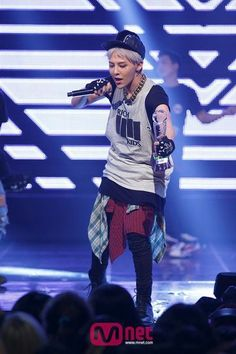 G-Dragon at M! Countdown on September 26, from Mnet's website