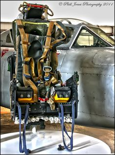 Martin-Baker was an original pioneer of ejection seat development and has manufactured ejection seats continuously since 1946, producing over 75,000 seats to date. The full range of ejection seats meets the requirements for primary trainers, advanced trainers and combat aircraft. Backed by more than 60 years of experience, Martin-Baker has saved over 7,283 aircrew lives in 93 Air Forces around the World.  This seat is housed in the RAF Museum Cosford in Shropshire.