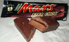 Mars Xtrs choc limited edition