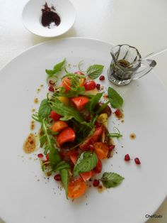 Talise Nutrition - Madinat Jumeirah - Heirloom Tomatoes and Sumac – a perfect match