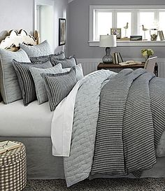 noble excellence villa signature vintage washed linen bedding collection dillards
