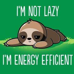 Such a cute sloth Cute Baby Sloths, Cute Sloth, Cute Baby Animals, Funny Animals, Baby Otters, Cute Puns, Funny Cute, Hilarious, Memes Humor