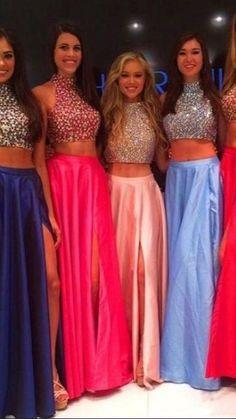 Prom Dresses 2016, Prom Dresses Blue, Sexy Dresses, Beautiful Dresses, Bridesmaid Dresses, Prom Gowns, Party Dresses, Blush Dresses, Coral Dress