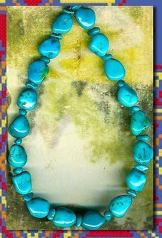 Sleeping Beauty Turquoise Beads 2 Sizes Up to 12mm Genuine Pure Color Nuggets |