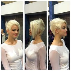 #pixiecuts From @aquagehaircare hair by @parvinatrix