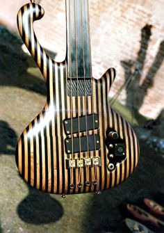That stripped fretless bass, so interesting