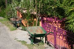 Jardin des Sambucs, Languedoc-Roussillon in France