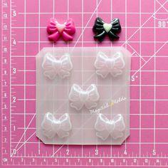 ON SALE Mini Decoden Moon Coffins Flexible Plastic Resin Chocolate Mold Set ~ 3 pc
