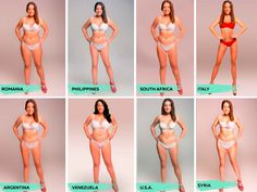 Want To Know What The Ideal Body Shape Is?  I'm moving to Spain or Columbia.