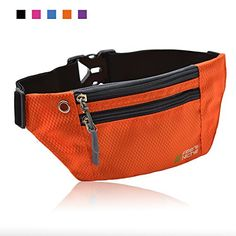 Running Waist Pack Travel Fanny Bag Empire State Zipper Sports Little Pocket For Hiking Climbing Yoga Gym Workout Jogging Exercise & Fitness